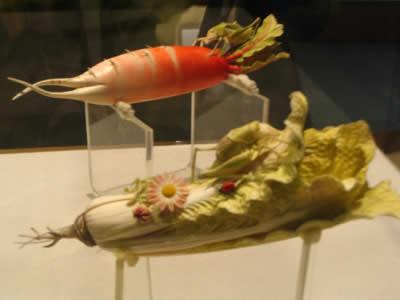 萝卜雕刻动物教程
