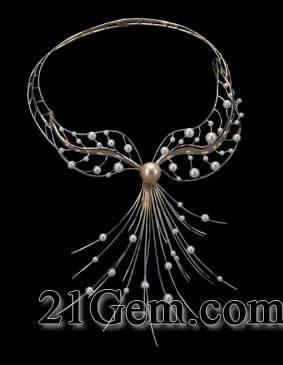 中国珠宝首饰设计作品 首饰珍珠组
