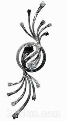 中国珠宝首饰设计首饰图——钻石组
