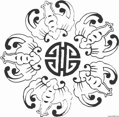 中国玉雕图案中的吉祥寓意