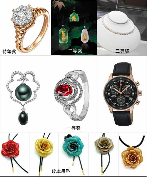 参观赢钻石 2010上海国际珠宝展举行抽奖活动
