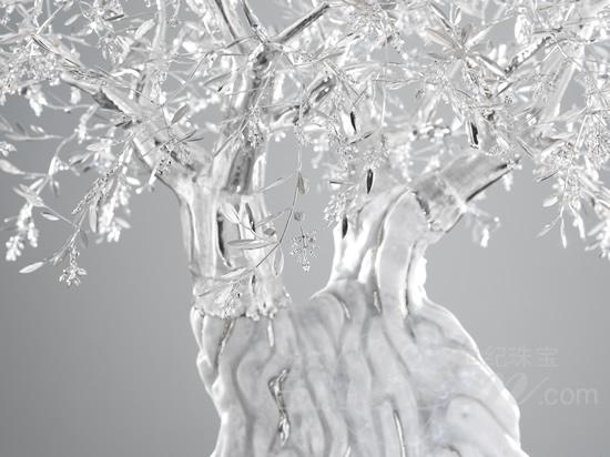 传递永恒铂金橄榄树——意大利著名珠宝设计师